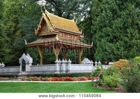 Thai Temple In The Park