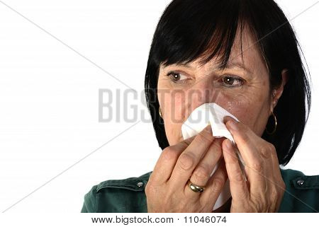 Retired Woman Crying