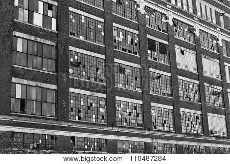 Urban Factory Blight - Abandoned Factory - Worn, Broken And Forgotten II