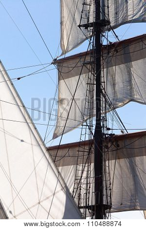 Barquentine Yacht Sails And Rigging
