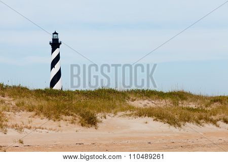 Cape Hatteras Lighthouse Dunes And Beach Nc Usa