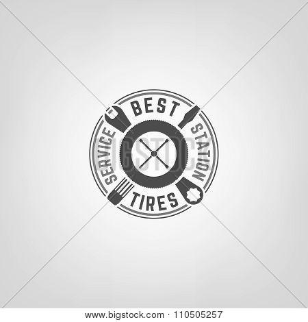 Tires Shop Logo006 A