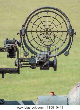 Sight Of A Anti-aircraft Warfare