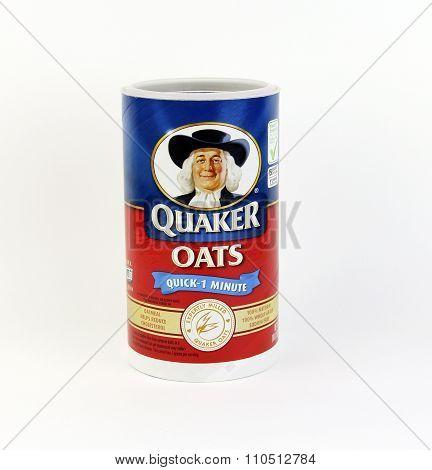 Box Of Quaker Oats Cereal