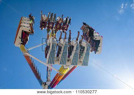 Wild Ride At The Fair