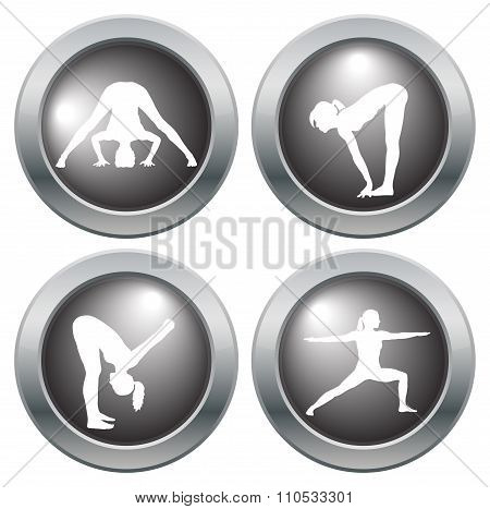 Yoga Icon Set 5