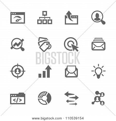 Simple SEO Icons