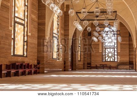 Grand Mosque In Manama, Bahrain