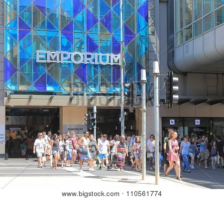 Christmas shopping Melbourne Australia