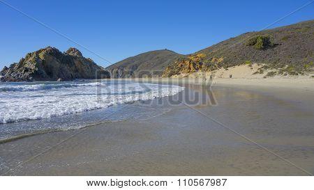 empty beach walk