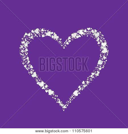 Love Heart Valentine Shape