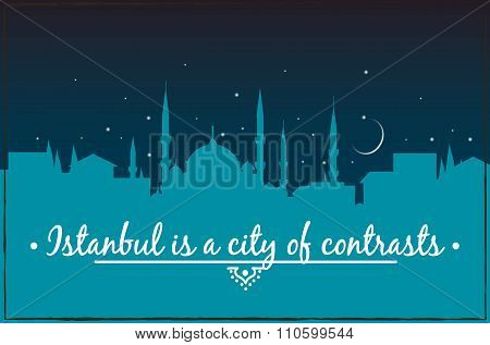 Istanbul is a city of contrasts