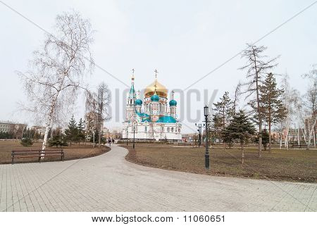 Assumption Cathedral In Omsk