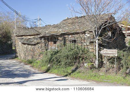 Antique Abandoned House At Campillo De Ranas