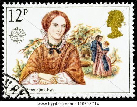 Britain Charlotte Bronte Postage Stamp
