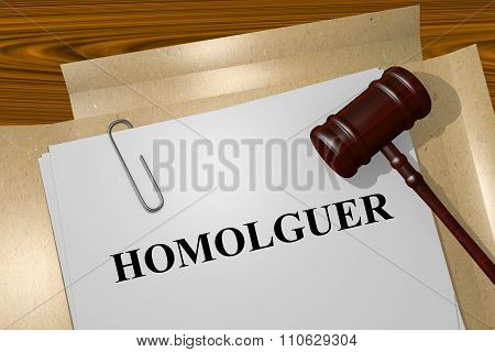 Homologuer - The French Word For Probate