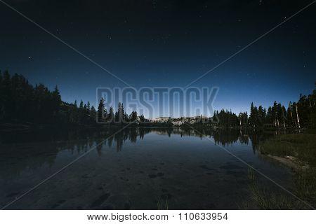 Nightsky In Yosemite National Park