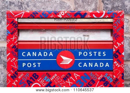 Canada Post Mail Box