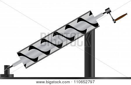 Typical Archimedes Screw Machine