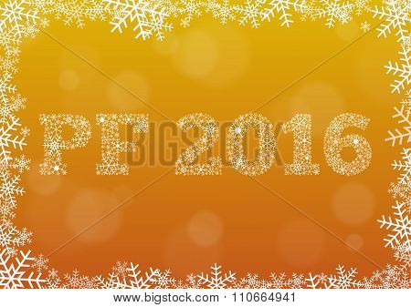 Shiny Pf (pour Feliciter, Happy New Year) 2016