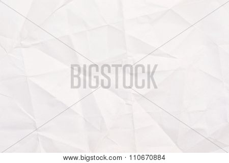 Vintage rumpled crumpled paper texture or background