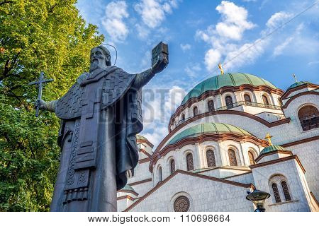 Church of Saint Sava. Belgrade (Beograd) Serbia poster