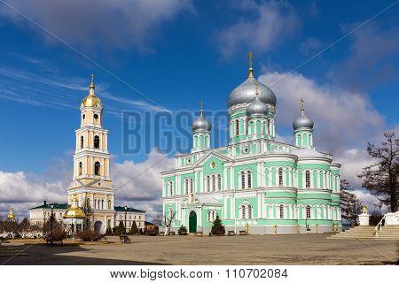 Holy Trinity-saint Seraphim-diveyevo Monastery. Nizhny Novgorod Region. Russia