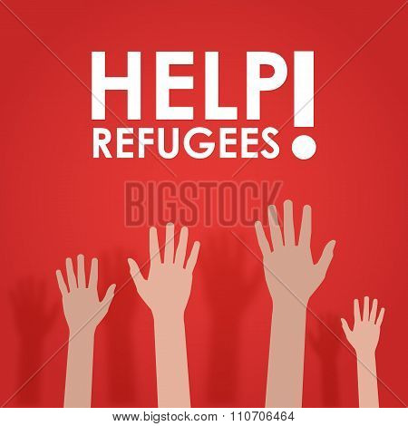 Refugees need help