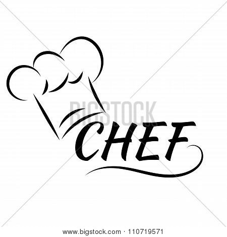 Chef's Hat Cook Vector Illustration Eps 10