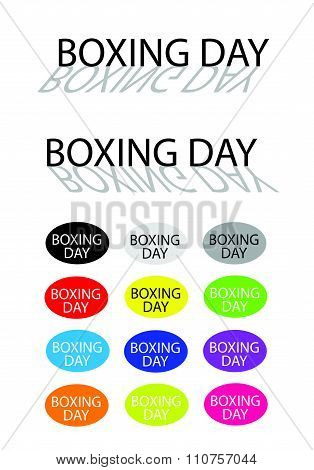 Boxing Day Banners For Special Price Products