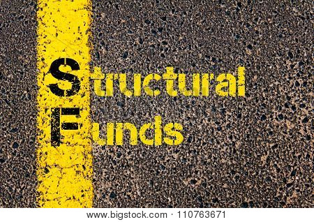 Accounting Business Acronym Sf Structural Funds