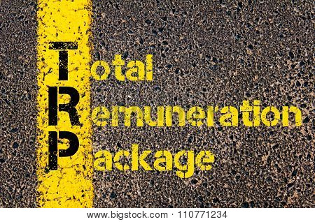 Accounting Business Acronym Trp Total Remuneration Package