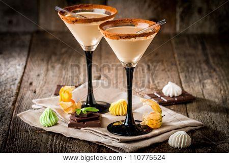 Irish Cream Liqueur In A Glass