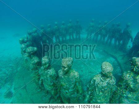 The Grenada Underwater Sculpture
