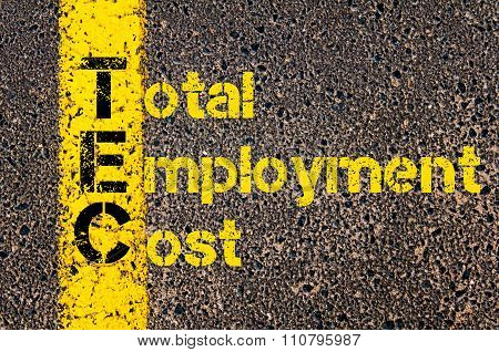 Accounting Business Acronym Tec Total Employment Cost