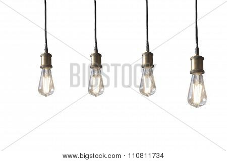 lamp with white background.