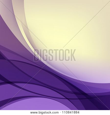 Abstract Purple Yellow Background