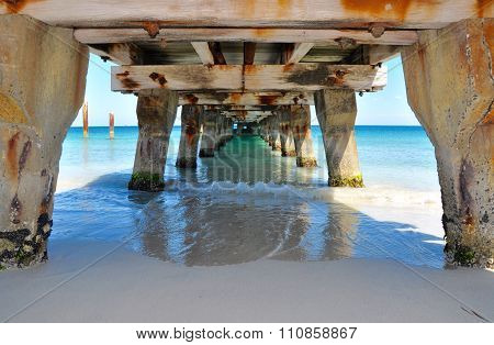 Turquoise Waters: Under the Jetty