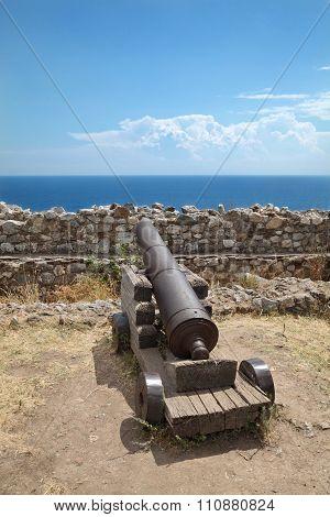 View From Platamonas Castle, Greece