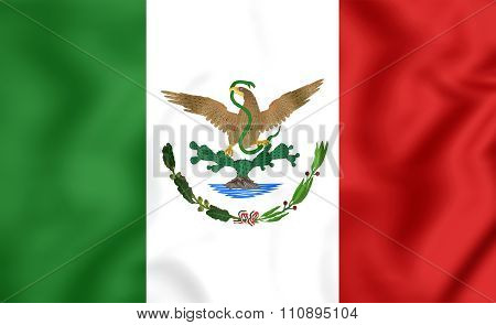Flag Of Mexico (1893-1916)