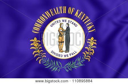 Flag Of Kentucky, Usa.
