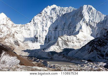 Kali Himal, Beautiful Mountain In Khumbu Valley