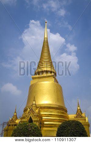 Golden stupa at Bangkok's Grand Palace