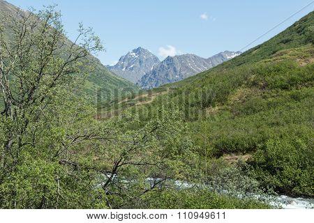 River through Alaska