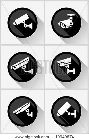 Video surveillance set