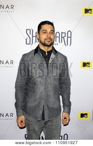 LOS ANGELES - DEC 4:  Wilmer Valderrama at the he Shannara Chronicles at the iPic Theaters on December 4, 2015 in Los Angeles, CA