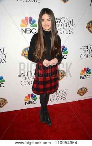 LOS ANGELES - DEC 4:  Landry Bender at the Dolly Parton's Coat Of Many Colors at the Egyptian Theater on December 4, 2015 in Los Angeles, CA