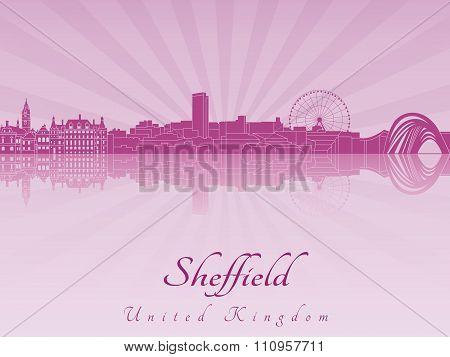 Sheffield Skyline In Purple Radiant Orchid