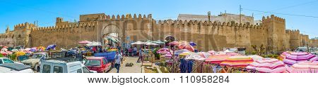 Panorama Of Bab Jebli Gates