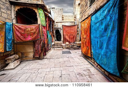 Streets Of Jaisalmer Fort